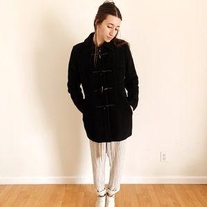 Banana Republic Wool Winter Coat Toggle Zipper
